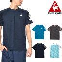 半袖 Tシャツ ルコック le coq sportif 半袖シャツ メンズ トレーニング ランニング ジョギング ジム ウェア 30%OFF