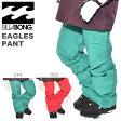 スノーボード ウェア ビラボン BILLABONG レディース EAGLES PANT スノー パンツ スノーウェア スノボ スキー ウエア 60%off 【あす楽対応】