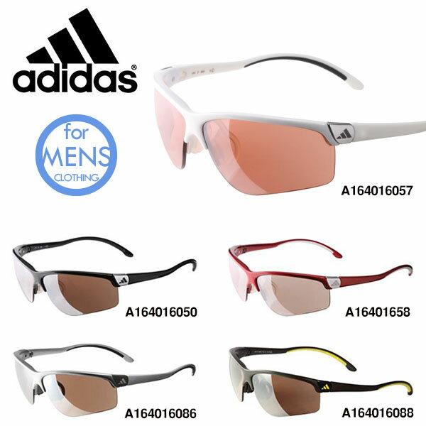 送料無料 スポーツサングラス アディダス adidas メンズ a164 adivista Lサイズ ゴルフ ランニング 釣り 自転車 テニス 紫外線対策 UVカット adidas アディダス スポーツ サングラス 男性用 紳士