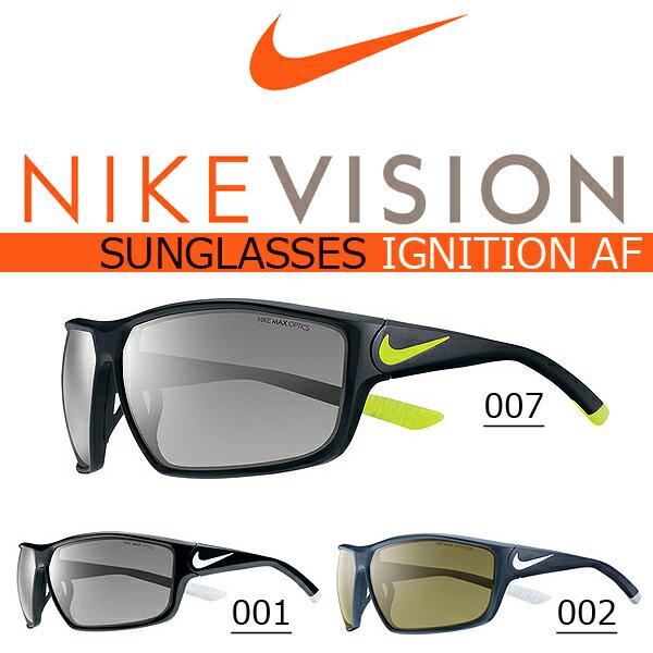 送料無料 スポーツサングラス ナイキ NIKE IGNITION AF NIKE VISION ナイキ ヴィジョン ゴルフ ランニング テニス サイクリング 自転車 カジュアル 紫外線対策 UVカット NIKE ナイキ スポーツ サングラス