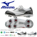 送料無料 ゴルフシューズ ミズノ MIZUNO レディース ネクスライト003ボア 軽量 防水 ゴルフ スパイク シューズ 靴 婦人靴