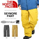 送料無料 スノーボード ウエア THE NORTH FACE ザ・ノースフェイス メンズ SEYMORE PANT セイモア パンツ カーゴ ハイベント スキー バックカントリー 25%off