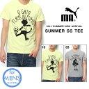 半袖 Tシャツ プーマ PUMA メンズ スポーツクラシック グラフィック ショートスリーブ シャツ SC GRAPHIC SS TEE サッカー プリント カジュアル 2014夏新作