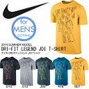 半袖 Tシャツ ナイキ NIKE DRI-FIT レジェンド JDI Tシャツ メンズ ビッグロゴ カジュアル スポーツ ウェア 2014夏新作