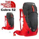 送料無料 ザック リュックサック THE NORTH FACE ザ ノースフェイス Cobra 52 コブラ52 アルパインパック 登山 アウトドア 50 52L かばん バッグ SUMMIT SERIES