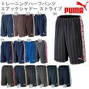 プーマ PUMA トレーニング ハーフパンツ シャドー ストライプ ジャージ メンズ レディース 862222 プーマジャージ レビューを書いて100円割引き