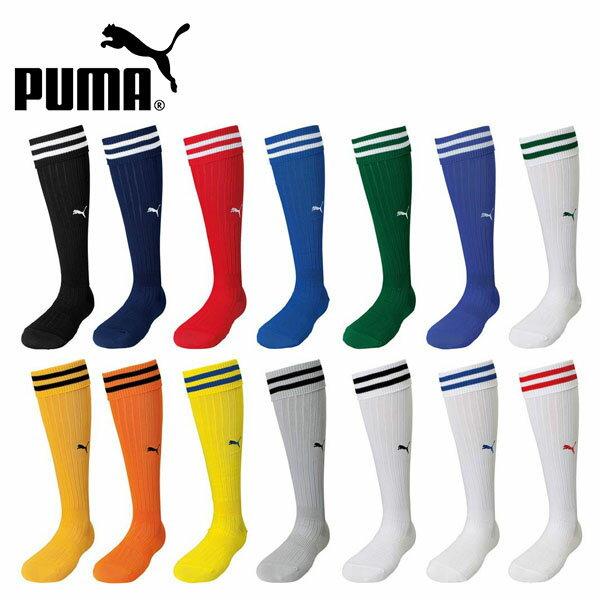サッカーソックス プーマ PUMA メンズ 靴下 ストッキング スポーツソックス ハイソッ…...:elephant-sports:10038507