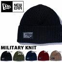 ネコポス対応可能! ニューエラ NEW ERA ニット帽 ビーニー Military Watch Knit メンズ レディース ニットキャップ キャップ ロゴ ...