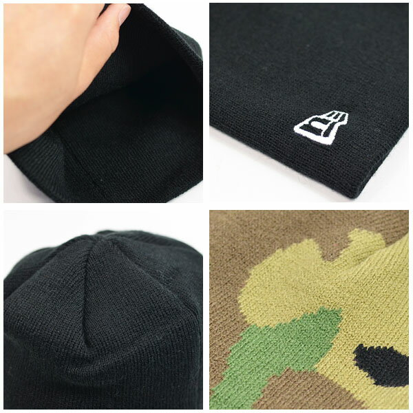 ネコポス対応可能!ニット帽ニューエラNEWERABasicBeanieビーニーニットキャップメンズレディースロゴキャップ帽子ベーシックスノーボードスケートボードスノボ