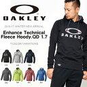 送料無料 長袖 パーカー OAKLEY オークリー Enhance Technical Fleece Hoody.QD 1.7 メンズ プルオーバー ジャージ 日本正規品 スポーツ トレーニング スノーボード スキー 2016-2017冬新作 吸汗速乾