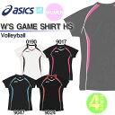 半袖Tシャツ アシックス asics レディース ゲームシャツ スポーツ バレーボール ウェア XW1307