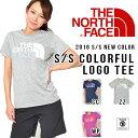 半袖 Tシャツ ザ・ノースフェイス THE NORTH FACE S/S Colorful Logo Tee カラフル ロゴ レディース ビッグロゴ カジュアル アウトドア 2017春夏新色 NTW31601 ザ ノースフェイス 12%off