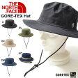 ハット THE NORTH FACE ザ・ノースフェイス GORE-TEX HAT ゴアテックス ハット 登山 アウトドア 紫外線防止 帽子 防水 グランピング