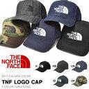 キャップ ザ・ノースフェイス THE NORTH FACE TNF LOGO CAP ロゴ キャップ 帽子 フリーサイズ 2017秋冬新色 ロゴ刺繍 スナップバック NN01450 10%off