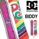 ラスト1本 送料無料 スノー ボード 板 DC SHOE ディーシーシュー BIDDY ビディー レディース スノーボード スノボ DC Shoes ディーシー シューズ 143 【得割35】