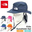 送料無料 UVカット ハット ザ・ノースフェイス THE NORTH FACE Kids Sunshield Hat キ