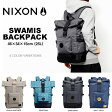 送料無料 バックパック NIXON ニクソン SWAMIS BACKPACK リュックサック デイパック メンズ レディース カジュアル ストリート スケボー かばん 鞄 BAG 35%off