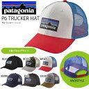 メッシュキャップ patagonia パタゴニア P6 TRUCKER HAT ロゴ メッシュ キャップ 帽子 CAP アウトドア フェス カジュアル 国内正規代理店品 38017