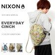ナップサック NIXON ニクソン EVERYDAY CINCH ジムサック リュックサック デイパック メンズ レディース かばん 鞄 BAG BACKPACK