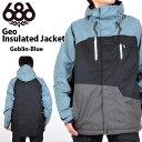 送料無料 スノーボードウェア 686 SIX EIGHT SIX シックスエイトシックス Authentic Geo Jacket メンズ ジャケット スノボ スノーボード スノーウェア 2016-2017冬新作 16-17 得割10