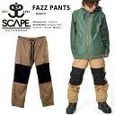 送料無料 スノーボードウェア SCAPE エスケープ FAZZ PANTS メンズ パンツ ファズ スノボ スノーボード スノーウェア ボトムス 2016-20...