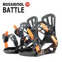 【得割40】 送料無料 ROSSIGNOL ロシニョール バインディング ビンディング BATTLE V1 メンズ レディース バイン スノーボード スノボ 2...