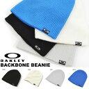 ニット帽 OAKLEY オークリー メンズ レディース BACKBONE BEANIE ロゴ ニットキャップ 帽子 ロゴキャップ スノーボード スノボ スキー ...