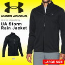 得割10 送料無料 大きいサイズ 防水 防風 レインジャケット アンダーアーマー UNDER ARMOUR UA Storm Rain Jacket メンズ レインウエア 雨具 ゴルフ GOLF 2018春夏新作 1281281