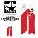 送料無料 スノー ボード 板 ROME SDS ローム SNURFER POWDER DIVISION スナーファー メンズ スノーボード スノボ 紳士用 パウダー フリーラン 148 得割20