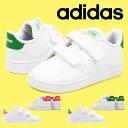 送料無料 ベビーシューズ アディダス adidas ADVANCOURT I ジュニア 子供 アドバンコート 男の子 女の子 ベルクロ スニーカー 子供靴 ファーストシューズ シューズ 靴 EF0300 EF0301