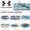 数量限定 6本セット ヘアバンド アンダーアーマー UNDER ARMOUR UA Mini Graphic HB 6pk メンズ レディース スポーツ バンド ヘッドバ..
