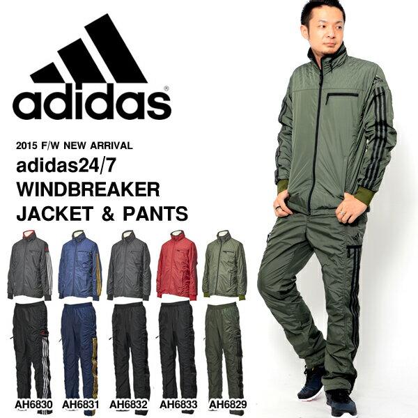 送料無料 ウィンドブレーカー 上下セット アディダス adidas 24/7 ウインドブレーカー ジャケット パンツ メンズ セットアップ 上下組 スポーツ トレーニング ウェア