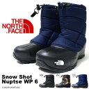 ザ・ノースフェイス THE NORTH FACE メンズ レディース ブーツ Snow Shot Nuptse WP 6 スノー ショット ヌプシ ウォータープ...