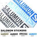 SALOMON サロモン STICKERS ステッカー スノーボード Lサイズ ロゴ LOGO カッティング シート シール スノボ 国内正規品 L380722...