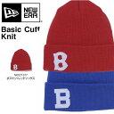 ニューエラ NEW ERA Team Logo ニット キャップ ニット帽 ビーニー ロゴ 帽子 折り返し メンズ レディース ぼうし CAP 紳士 婦人 ユニセックス スノー スノーボード