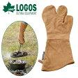ロゴス LOGOS ダッチミトン 鍋つかみ ダッチオーブン アウトドア BBQ バーベキュー レジャー キャンプ 耐熱 ミトン グローブ ロンググローブ