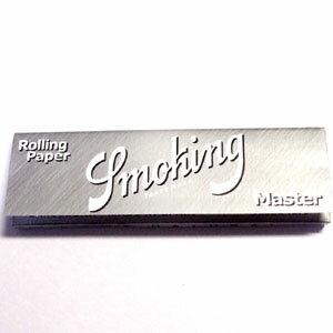 スモーキングペーパーSMOKING MASTER 1 1/4 手巻きタバコ用 巻紙