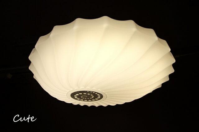 LEDシーリングライト KPC006 (インテリア照明 間接照明 ペンダントライト 天井照明 北欧 おしゃれ リビング 寝室 8畳 6畳)