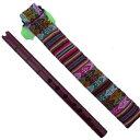 フォルクローレ楽器 ケーナ AM-3 アンデス楽器  ペルー 民族楽器 木製 AMARU社製 エンジ色
