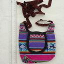 民族織物 伝統織物 AB-040-24 マンタ ショルダー バッグ アンデス クスコ ペルー インカ柄