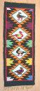 草木染め等 壁掛け 手織り 民族織物 テーブルクロス アンデス手織り ペルー T-04