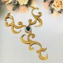 ゴールド レオタード バトン モチーフ ネックライン ラインストーン ネックラインモチーフ ワッペン アイロン用 貼り付け 衣装 レオタードモチーフ バレエ衣装