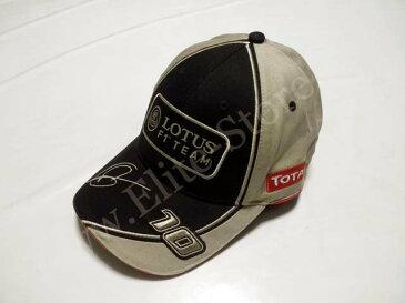 【送料無料】 ロマン・グロージャン 2012年 ロータス F1 支給品 本人用 キャップ 帽子 new (海外直輸入 F1 非売品グッズ)