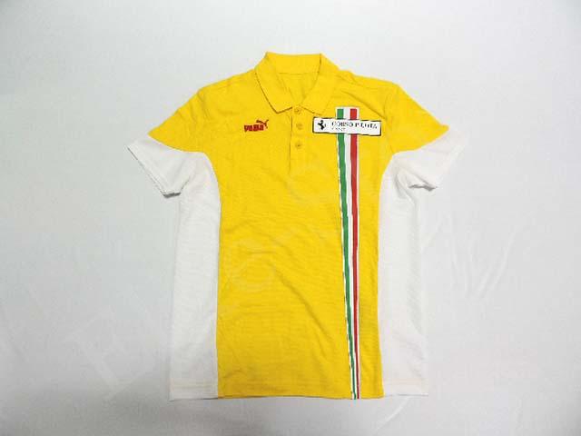 【送料無料】 フェラーリ コロソ・ピロタ 2007年 支給品 ポロシャツ メンズ S 5/5 (海外直輸入 F1 非売品USEDグッズ ゴルフウェア) フェラーリのコーポレートカラーのジャッロは美しいです。