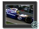 アイルトン・セナ 1994年 ロスマンズ・ウィリアムズ F1 FW16 走行1 A4サイズ 生写真【送料無料】(海外直輸入 F1 グッズ)