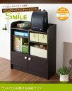 「ランドセルの置ける収納ラック≪SMILE≫」リビング家具と合わせて置ける、お洒落な子供用の家具。3カラーからお選び下さい。手彫り家具