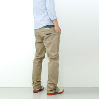 Flawless embroidered work Flawless chinos ローライズチノパン Type3 ringtone's in pants popular / men's Chino / beige / black / カーキグレー / Navy