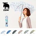 ショッピング日よけ moz モズ 傘 mabu マブ コラボ 折りたたみ UVカット 軽量 携帯 雨傘 日除け傘 かさ エルク 北欧 FARG&FORM フェルグ&フォルム