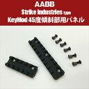 【AABB】URX4用KEYMODレール45度傾斜パネル【StrikeIndustriesタイプ】