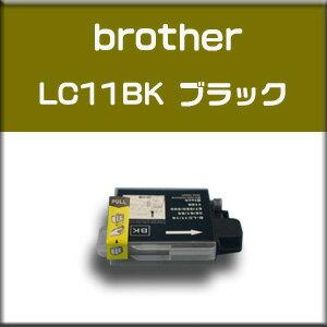 ★送料無料//メール便限定★ブラザー brother LC11BK ブラック 単品【純正互換】